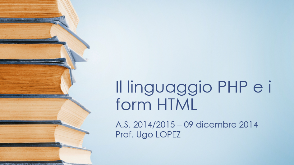 PHP & HTML forms